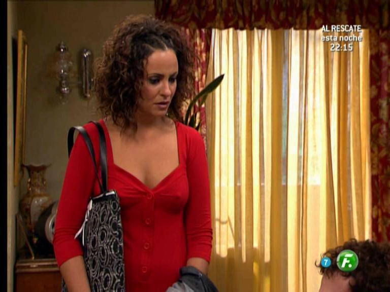 Melani Olivares en Aida Lunes 13 Agosto