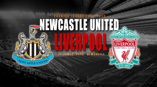 Newcastle United vs Liverpool Liga Inggris 2013
