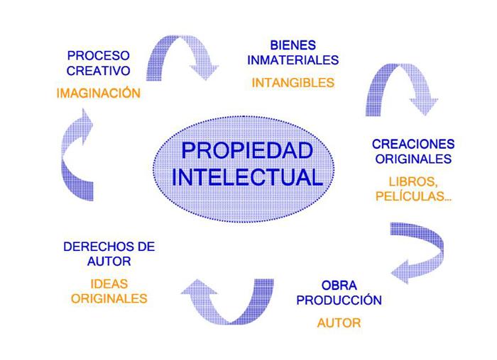 la ley de la propiedad intelectual: