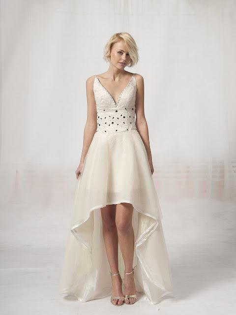 Los 10 mejores vestidos de novia cortos   Moda y Elegancia