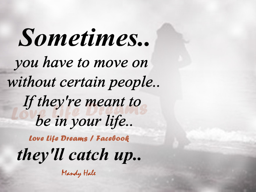 move on in love