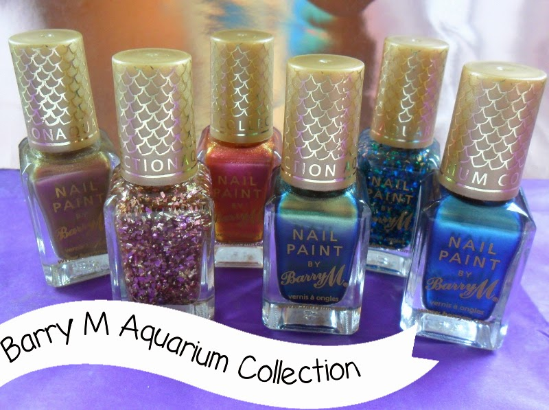Barry M Aquarium Collection Swatches