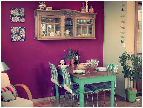 Comedores Retro | Ideas para decorar, diseñar y mejorar tu casa.