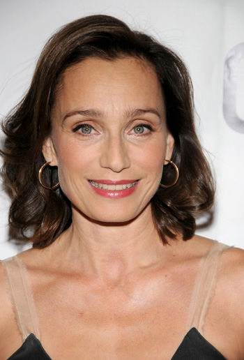 Kristin Scott Thomas Medium Hairstyle