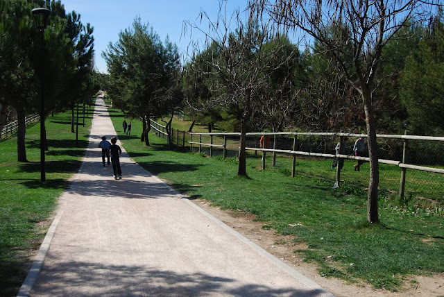 parque europa, visita a Madrid con niños