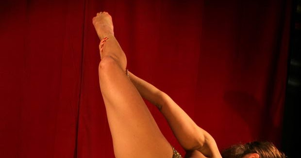 Sadlutova Zina Naked Gymnast