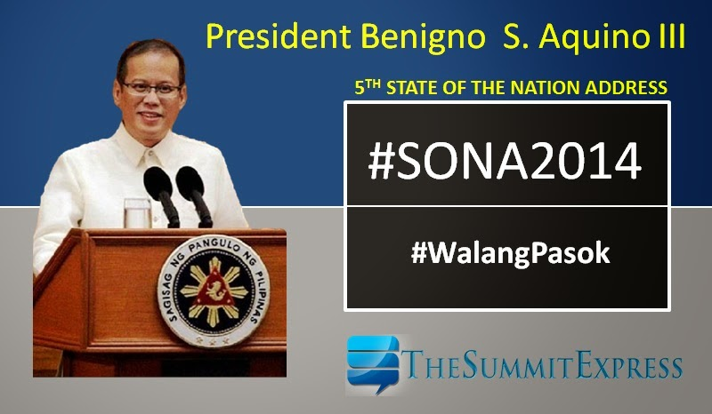 Schools affected by SONA announce class suspension on Monday, July 28, 2014
