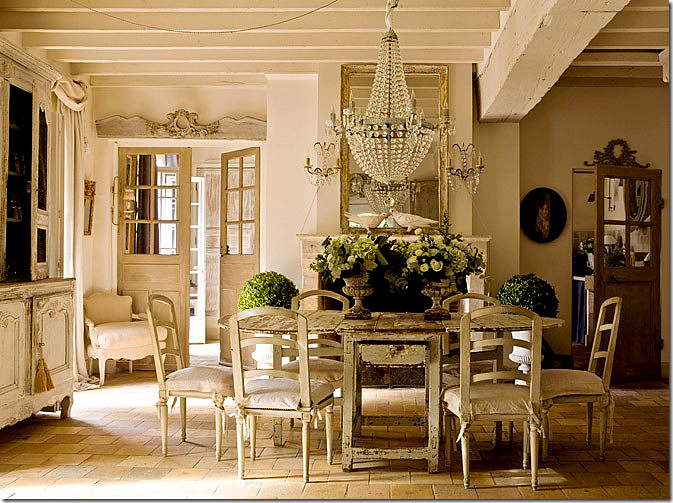 French Country Cottage Living Room: HOME REDESIGN HK: ELEGANT COUNTRY FRENCH DEORATING
