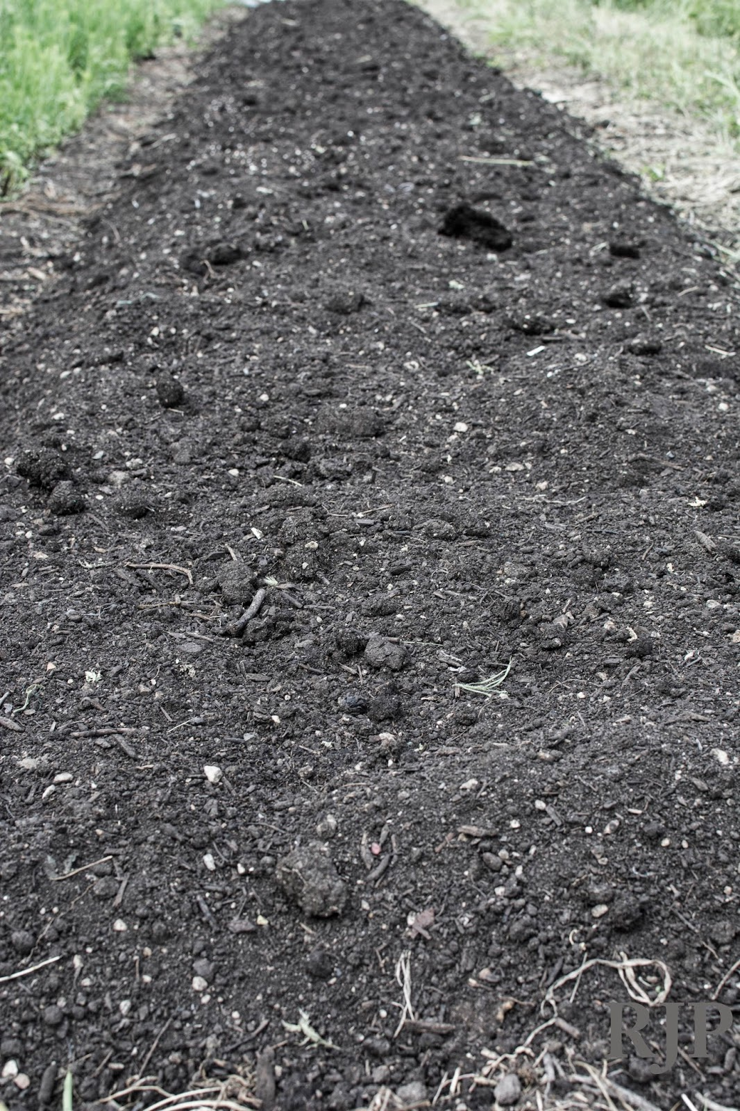 Compost Bed. Photo cred: Reed Petersen