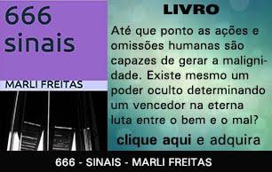 LIVRO: 666 - SINAIS - MARLI FREITAS