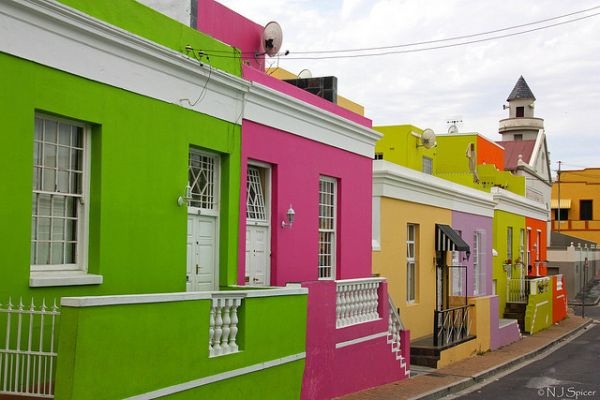 colorful towns
