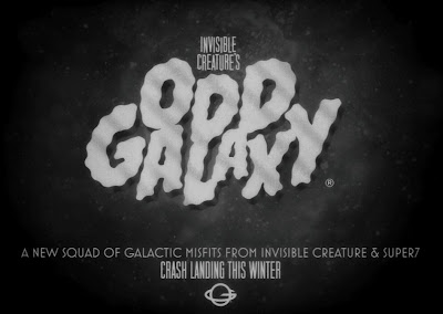 Invisible Creature x Super7 Odd Galaxy Galactic Misfits