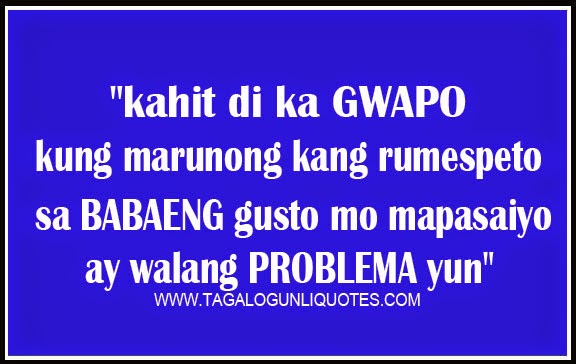 Boy Feelings Quotes Tagalog Advice Quotes For Boys