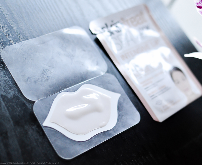 Skintreat Spa by Look Beauty Intensive Lip Care Gel Patch Mask Review