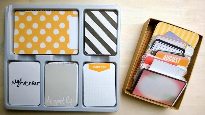 Core Kits oder verschiedene Project Life Karten? Ein Kommentar von Wiebke Hahn für www.danipeuss.de