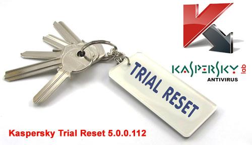 Resetter Kaspersky Terbaru (Kaspersky Trial Reset 5.0.0.112)