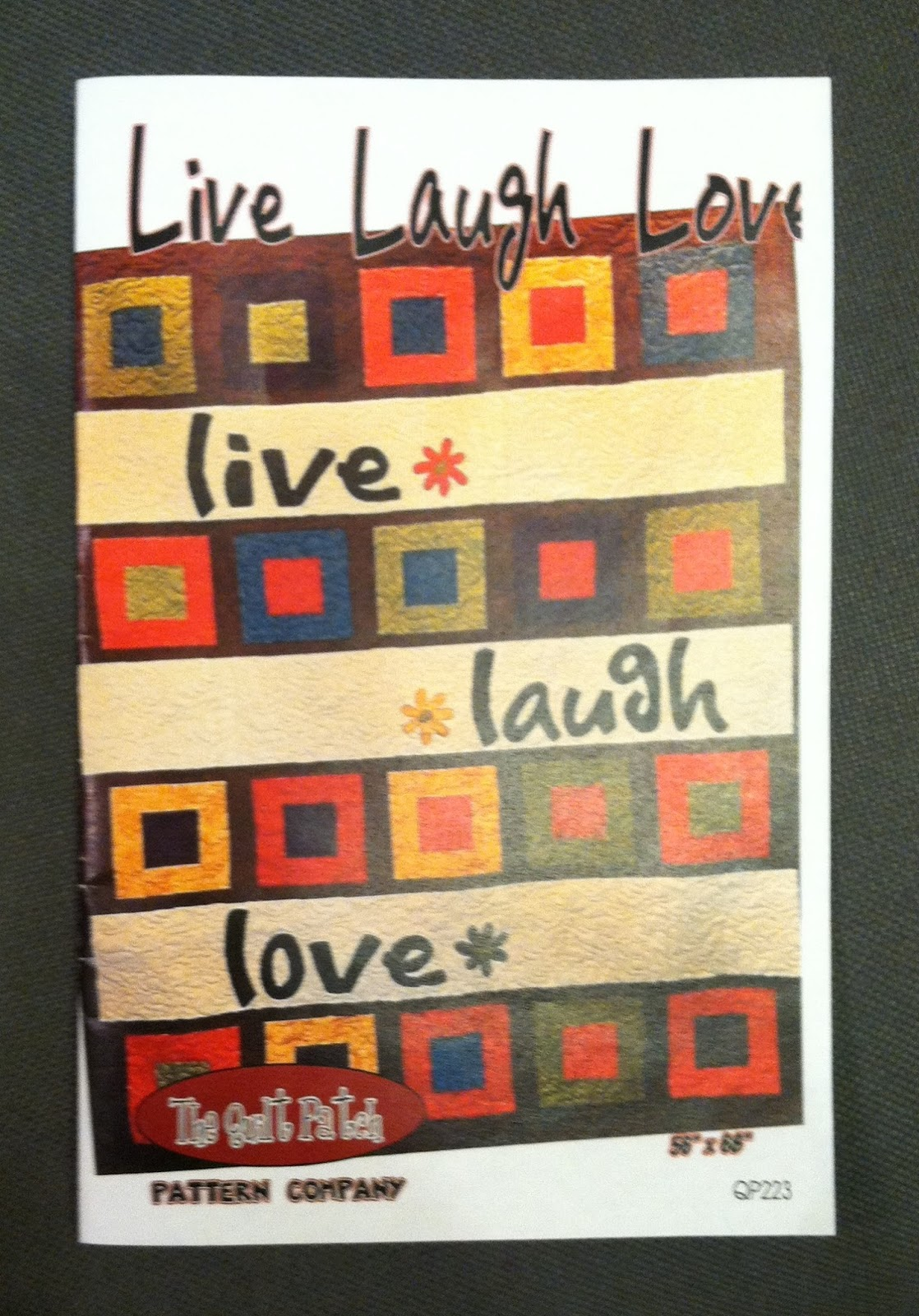 Everyone Deserves a Quilt: Design Wall Monday : love laugh quilt - Adamdwight.com