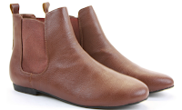 Autumn Brown Ankle Boots