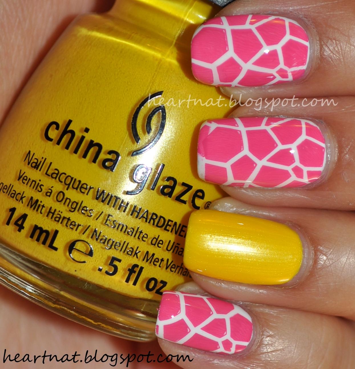 french nail art: Nicki Minaj Inspired Nails #3