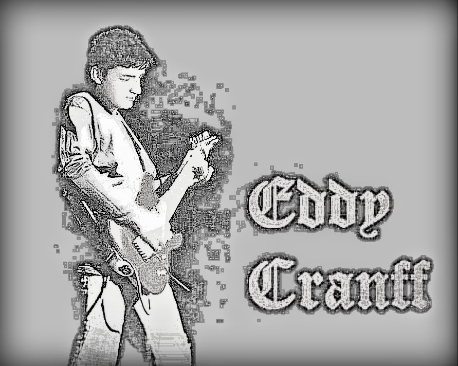 Eddy Cranff A new icon of rock music.