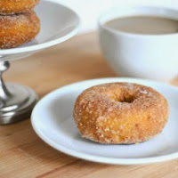 http://www.thechroniclesofhome.com/2013/10/baked-pumpkin-cinnamon-sugar-doughnuts.html