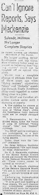 Can't Ignore Reports - Ottawa Evening Journal (Pt 1) 4-16-1952