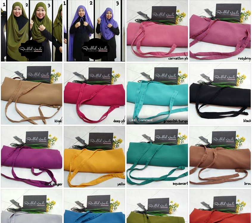 INSTANT SHAWL TERKINI (klik gambar untuk terus ke fb )