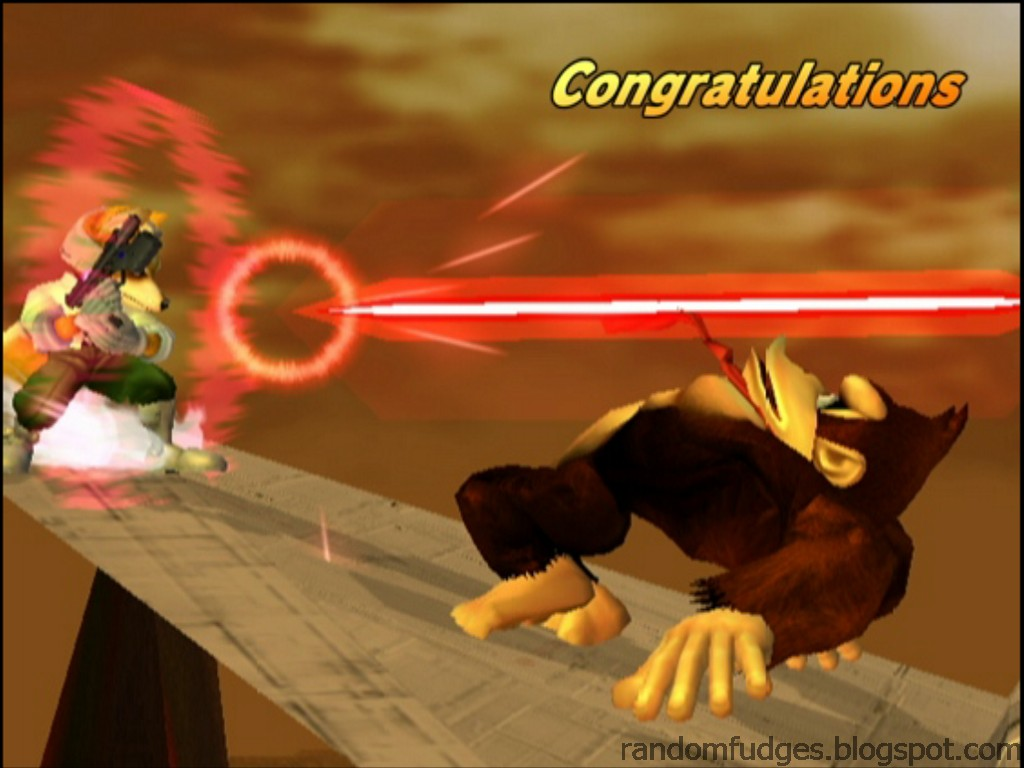 Random Fudges Super Smash Bros Melee Congratulations