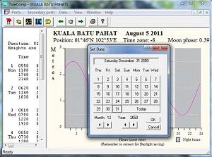 JADUAL PASANG SURUT AIR LAUT TIDECOMP (SEHINGGA 30/12/2050)