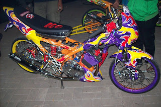 Korek Mesin Balap Yamaha Crypton
