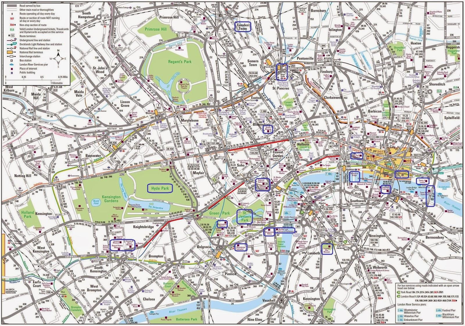 Viaggiografia londra - Londra punti d interesse ...