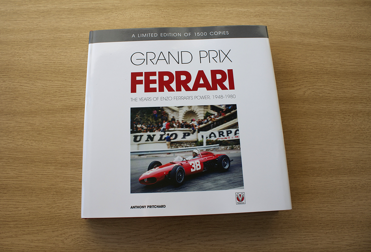 veloce publishing automotive stuff first look advance copies of grand prix ferrari book by. Black Bedroom Furniture Sets. Home Design Ideas