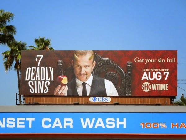 7 Deadly Sins Showtime billboard