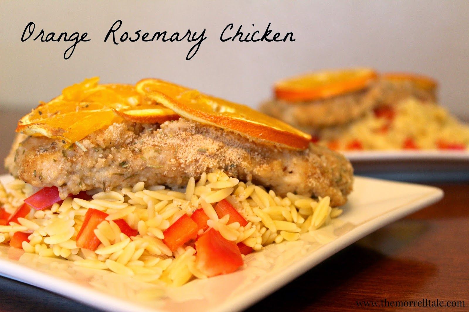 Orange Rosemary Chicken - Love to be in the Kitchen