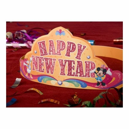 Corona de Minnie para Año Nuevo para Imprimir Gratis.