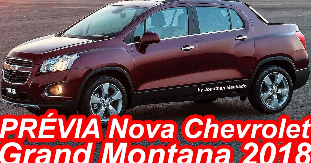 CARWP: PRÉVIA Nova Chevrolet Grand Montana 2018 @ Tracker ...