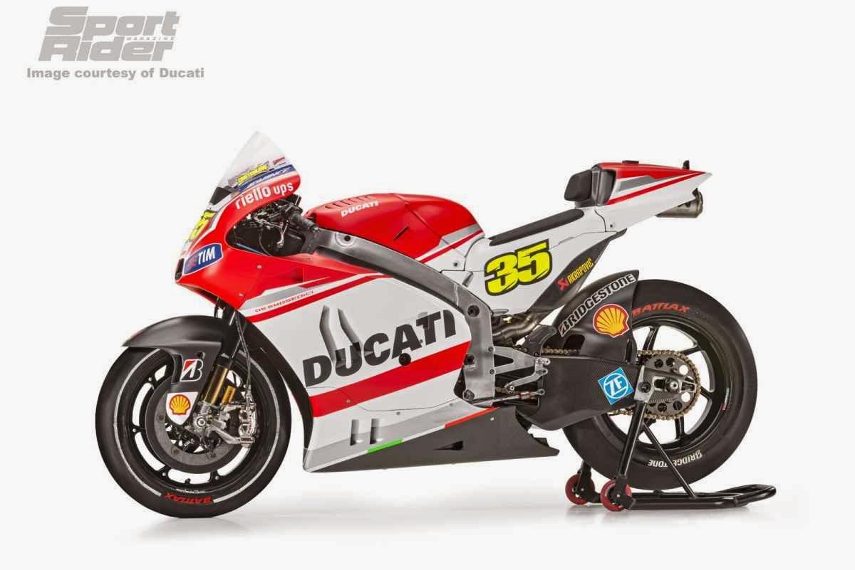 Foto: Desain Motor Ducati Desmosedici untuk MotoGP 2014