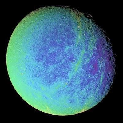 La luna con oxigeno