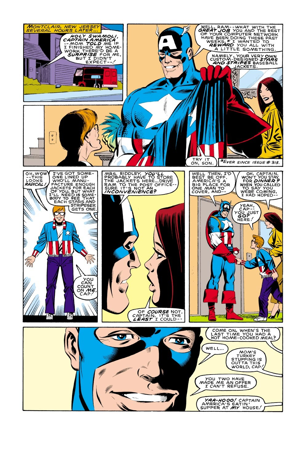 Captain America (1968) Issue #321 #249 - English 6