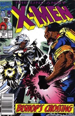 Uncanny X-Men #283 comic image