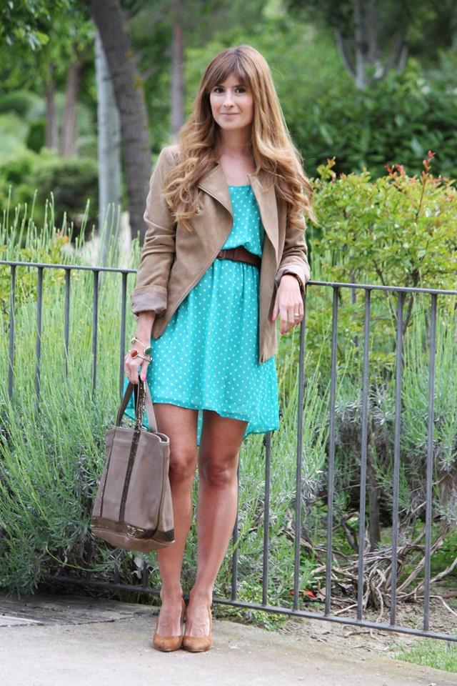 blog de moda y lifestyle: vestido de lunares - dots dress
