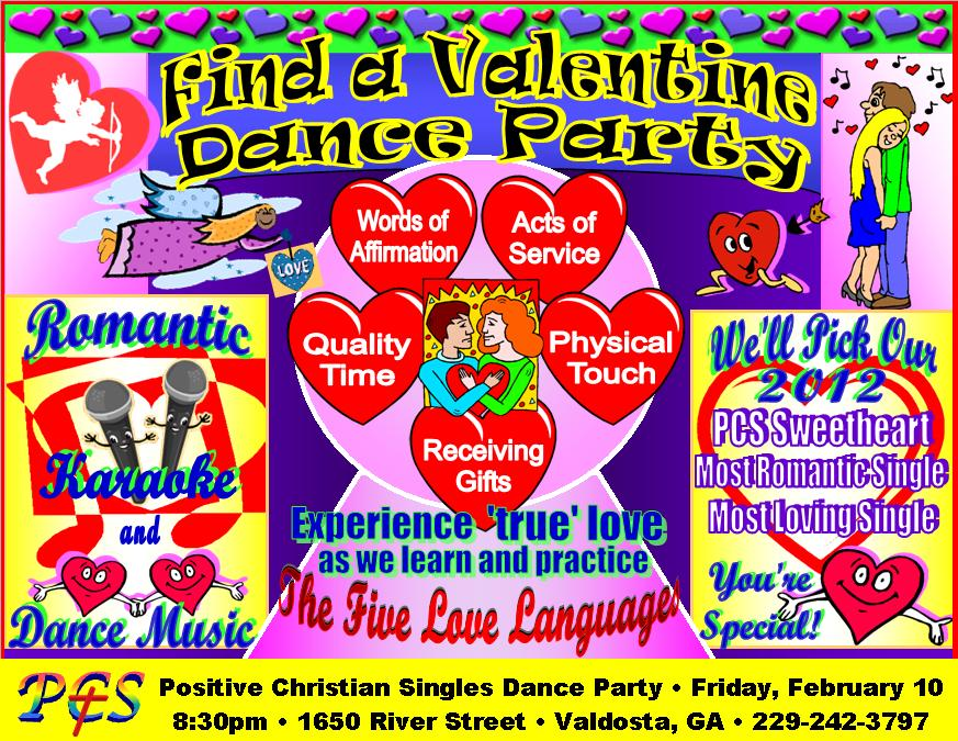 valentine christian singles Join us for some fantastic uplifting dance music, food, and fellowship we will be decorated for valentine's day no need for a partner, we are singles.