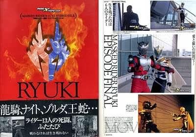 [SCANS] Kamen Rider Ryuki – Hybrid File