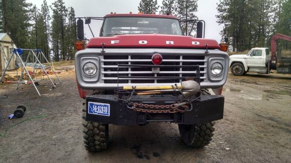 Kaiser Jeep For Sale >> 1975 Ford F-700 Crew Cab 6x6 Truck - 4x4 Cars