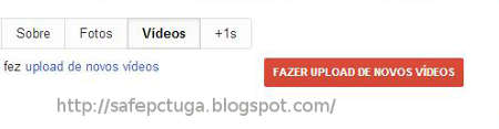 Como publicar vídeos no Google Mais Plus