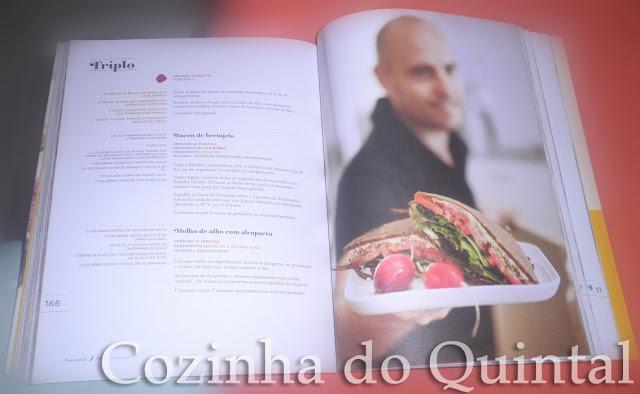 livros, Cozinha do Quintal