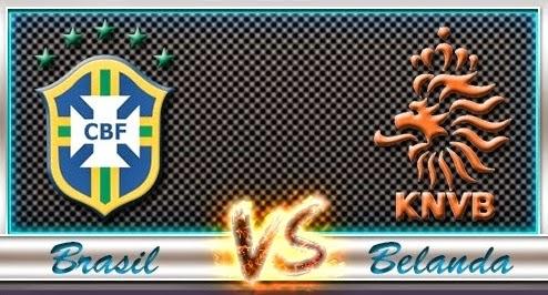 Prediksi Piala Dunia Brasil vs Belanda 13 Juli 2014