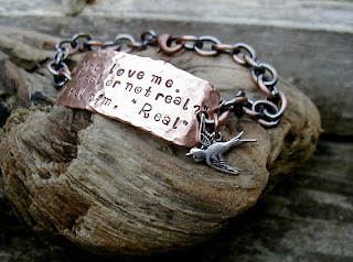 hunger games real or not real bracelet jewelry etsy