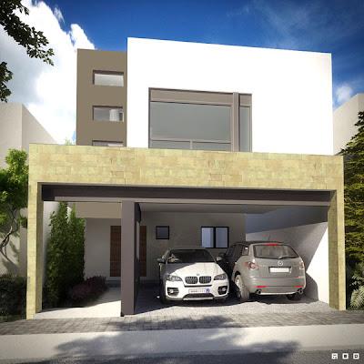 fachada residencial, fachada de residencia, fachada contemporanea, fachada moderna, casa moderna