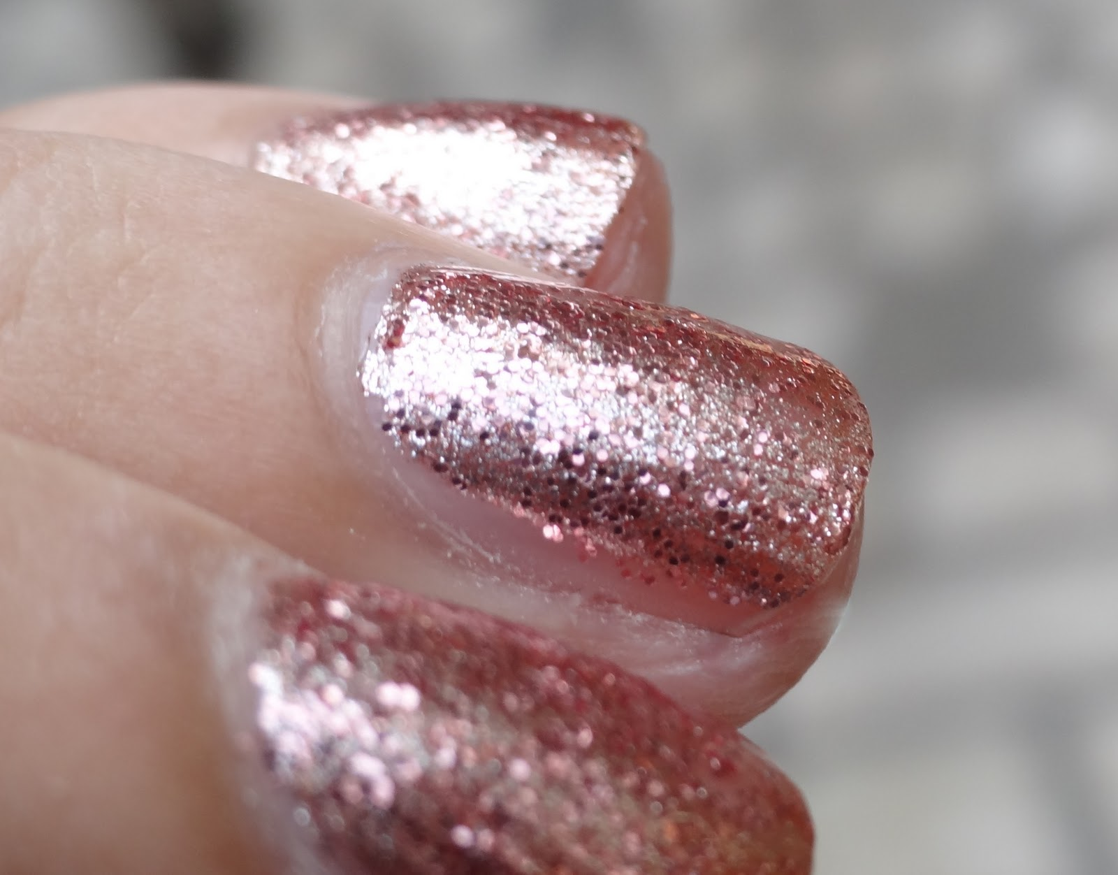 Orly Vip Nail Polish Swatch Layered On Top Of Rage